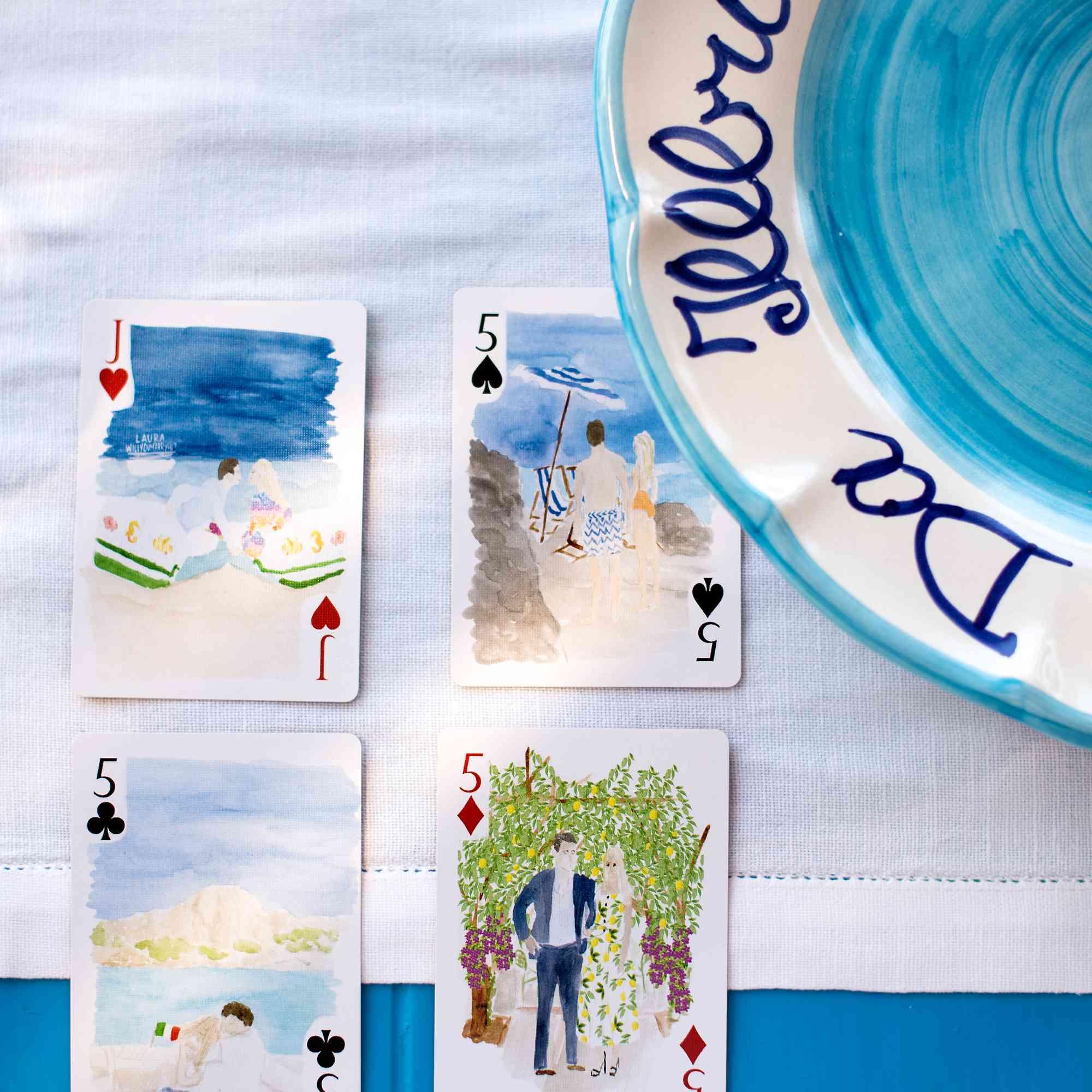 New Wedding Favor Idea Custom Playing Cards