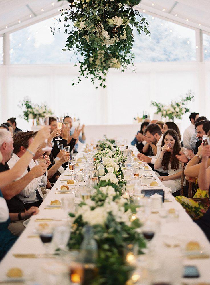 Guests at a reception