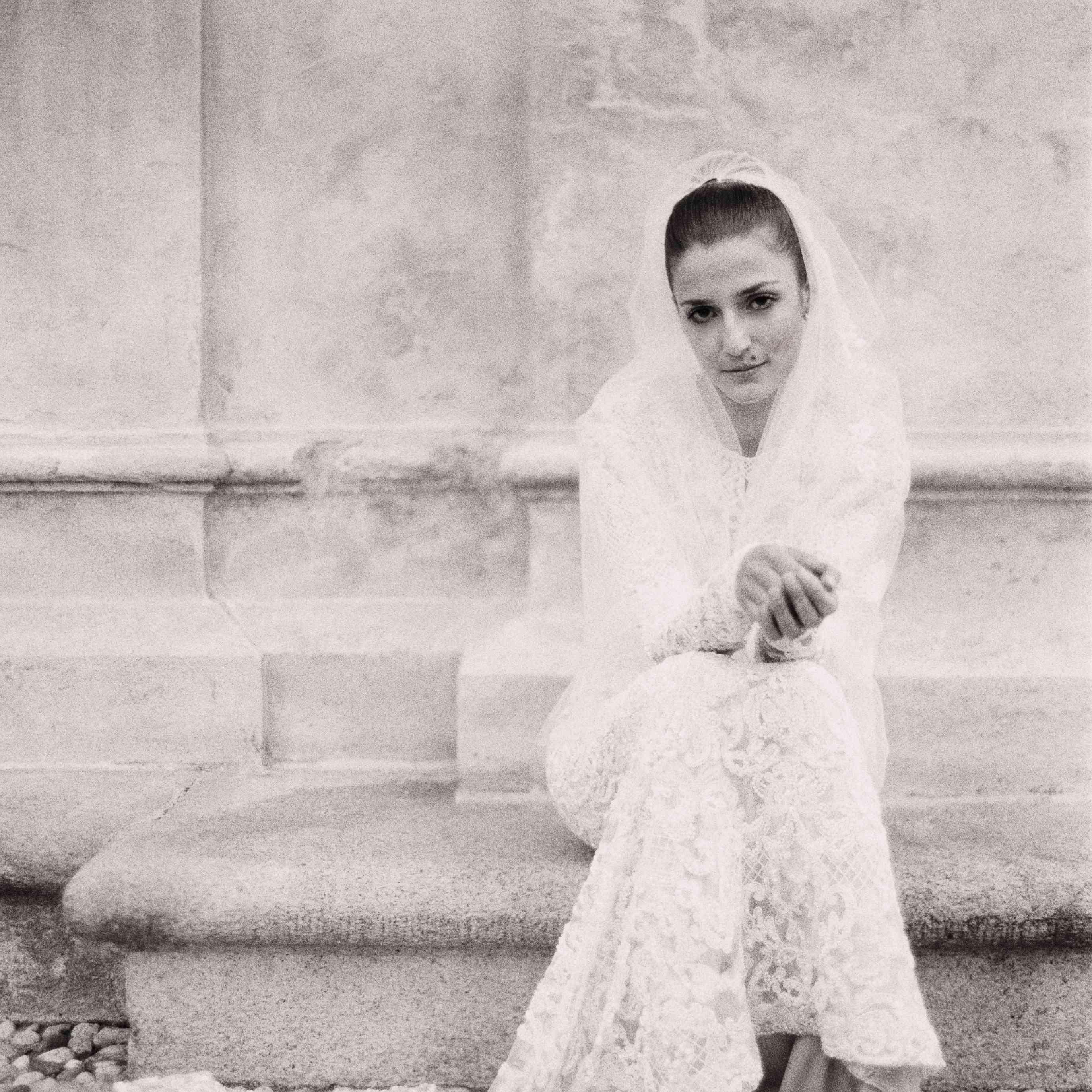 Northern Italian Wedding, Bridal Portrait