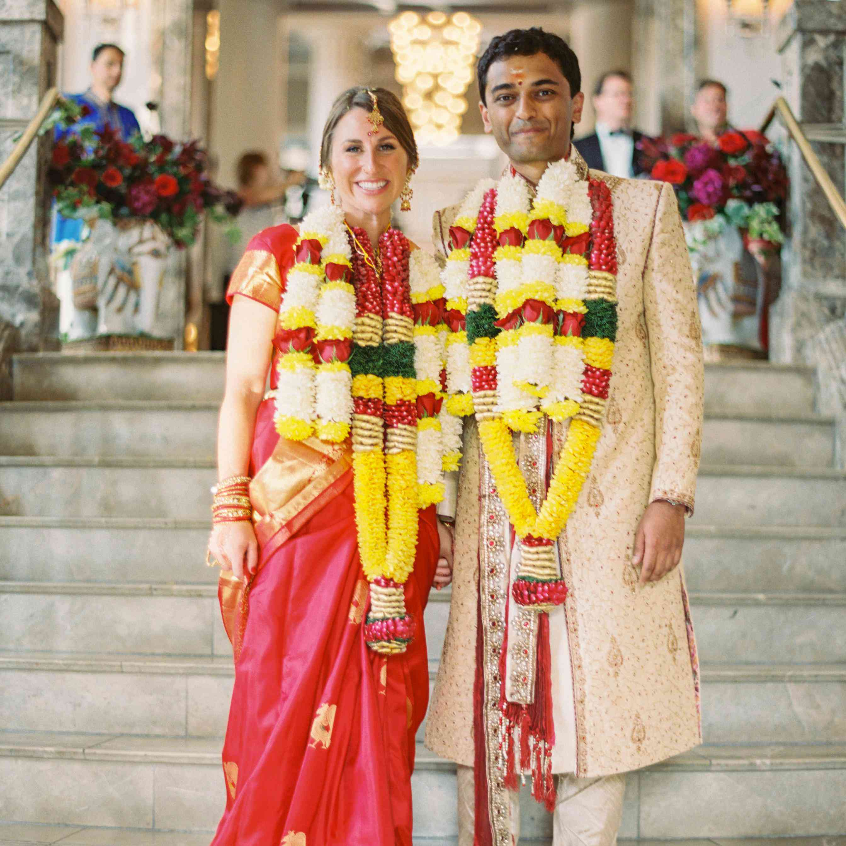 Hindu Wedding: See How This Couple Hosted Both A Hindu And Christian