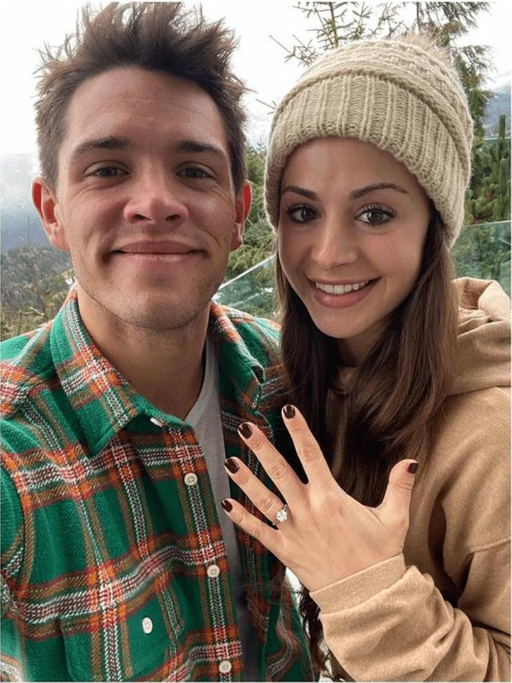 Casey Cott engaged
