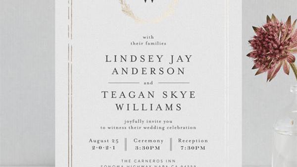 Royal Wedding Inspired Invitations From Minted (You Can Get for ...