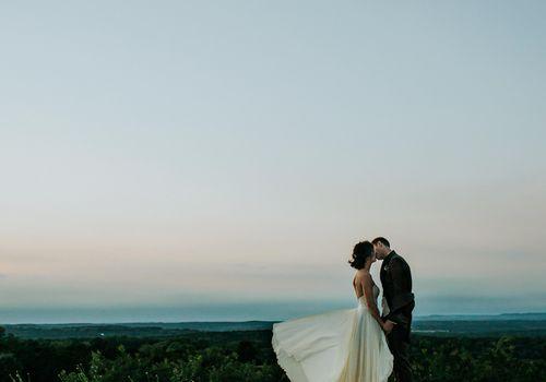 <p>Wedding photo at Rancho Mirando in Texas</p>