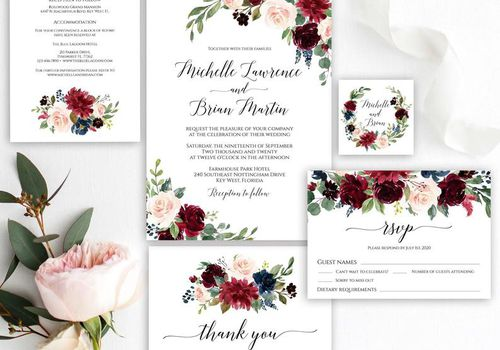 Diy Wedding Invitations How To Print