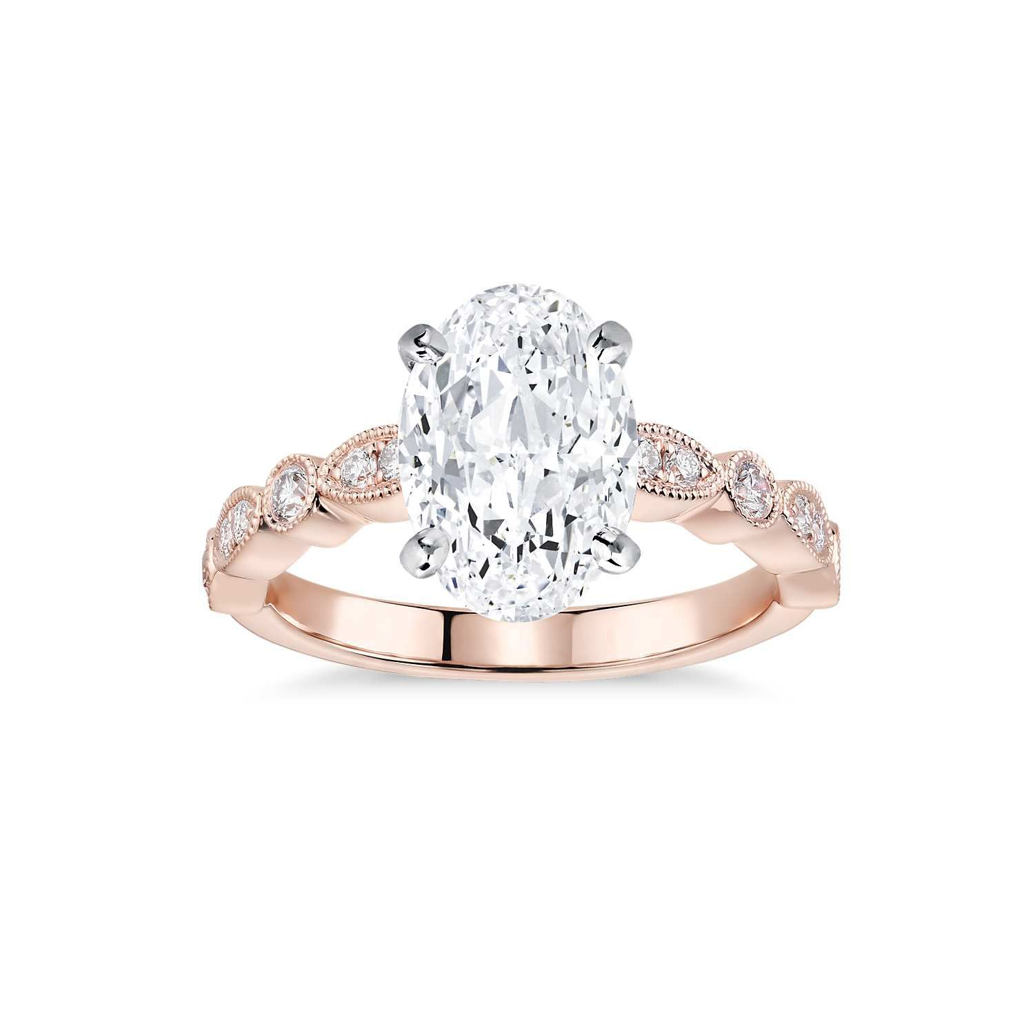 a4504fc60067a 92 Rose Gold Engagement Rings For Every Bridal Style