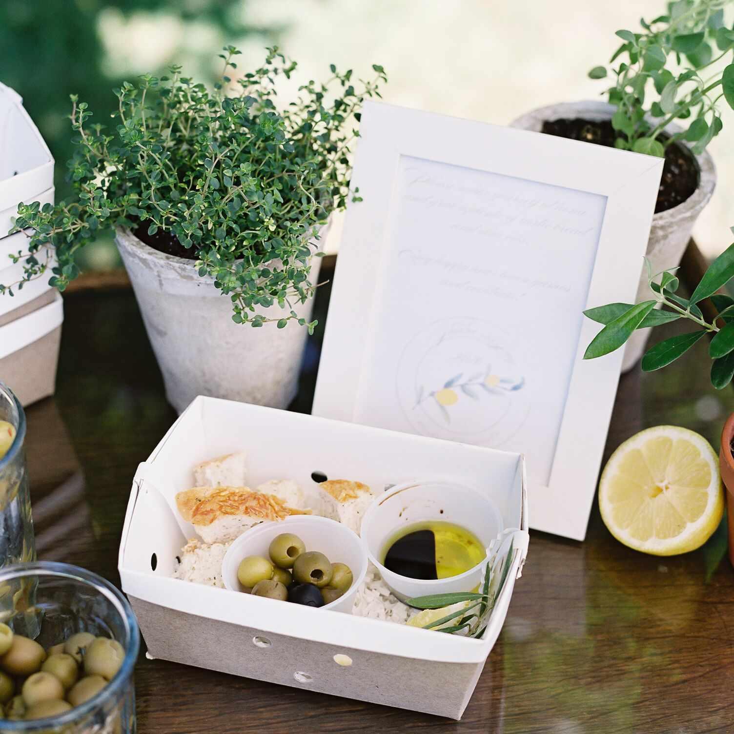 wedding snack box