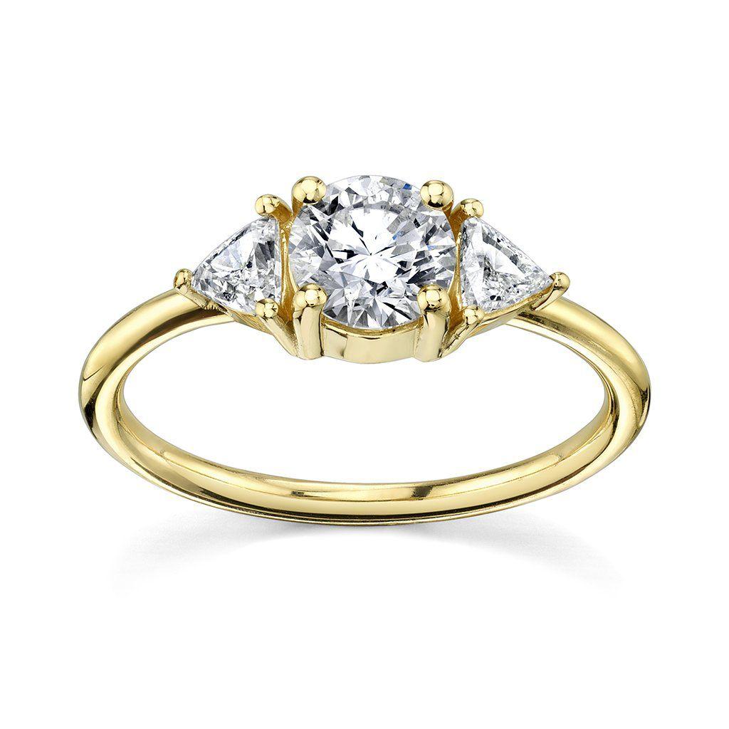 Marrow The Jillian Round Brilliant Ring