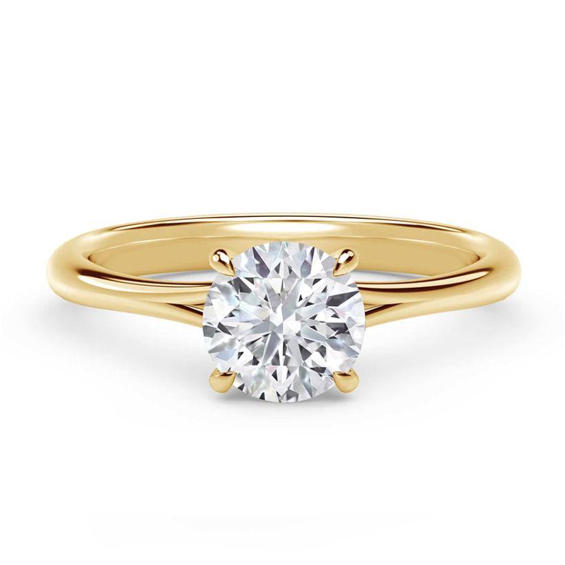Forevermark Icon™ Setting Round Engagement Ring