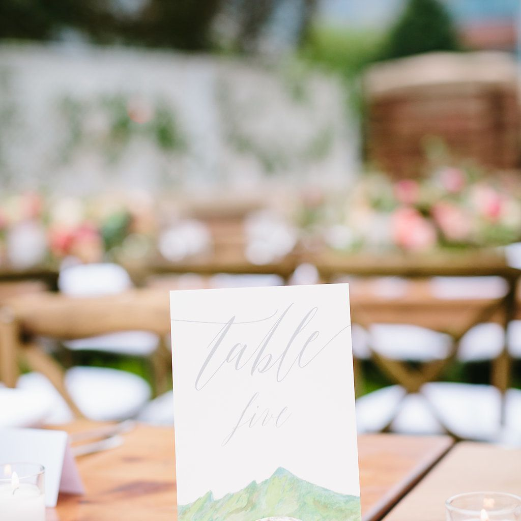<p>table number</p><br><br>