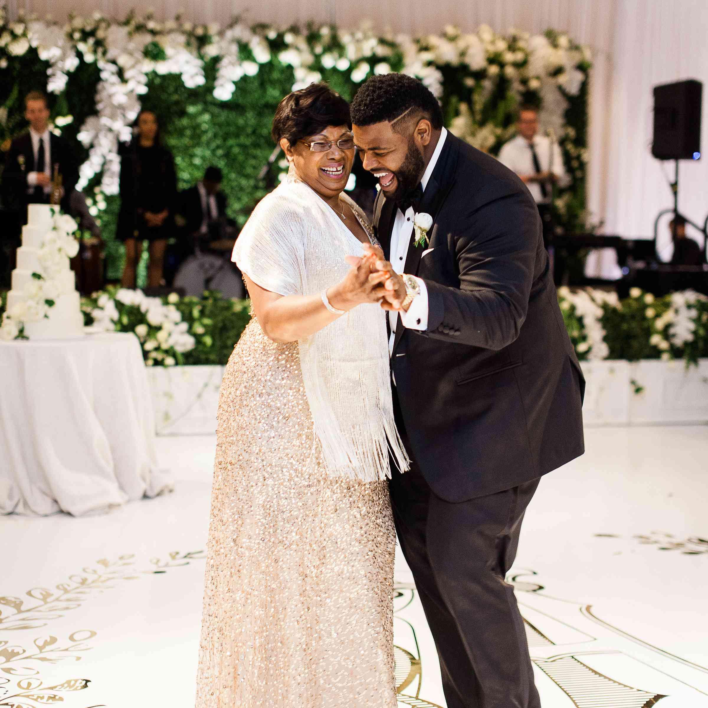 <p>mother son wedding dance</p>