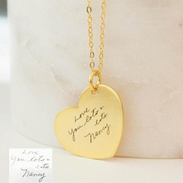 Caitlyn Minimalist Custom Handwriting Necklace