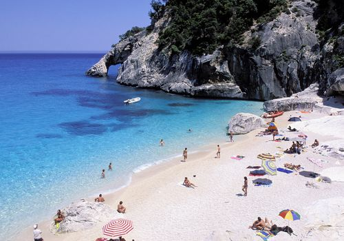 Italy, Sardinia, Orosei Gulf, Cala Goloritze