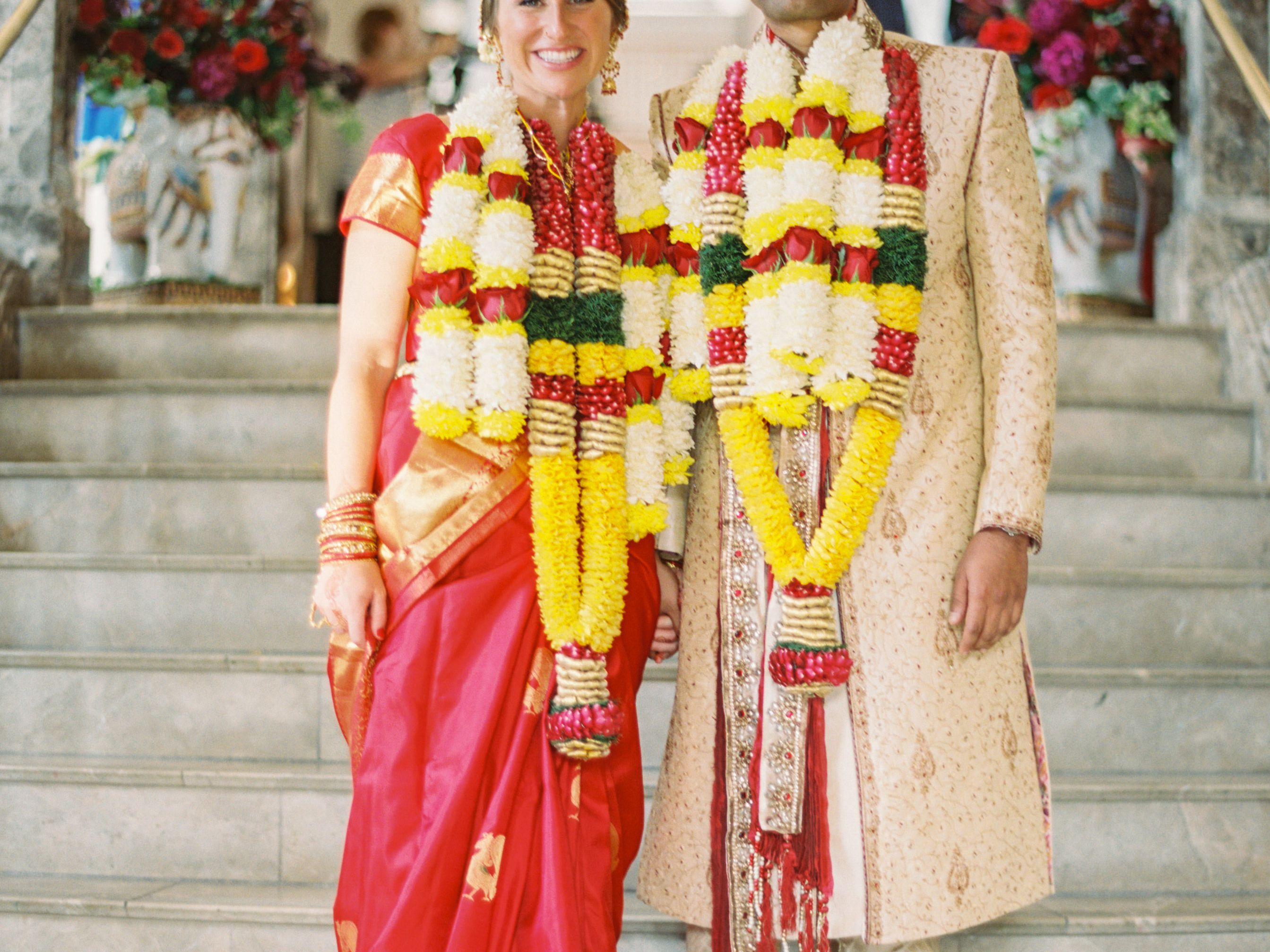 See How This Couple Hosted Both a Hindu and Christian