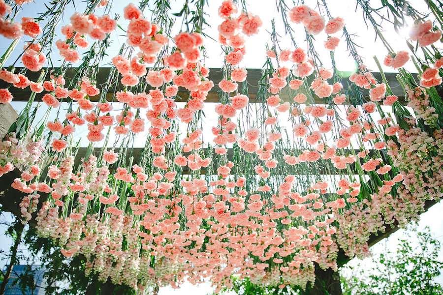 Carnation Floral Installation