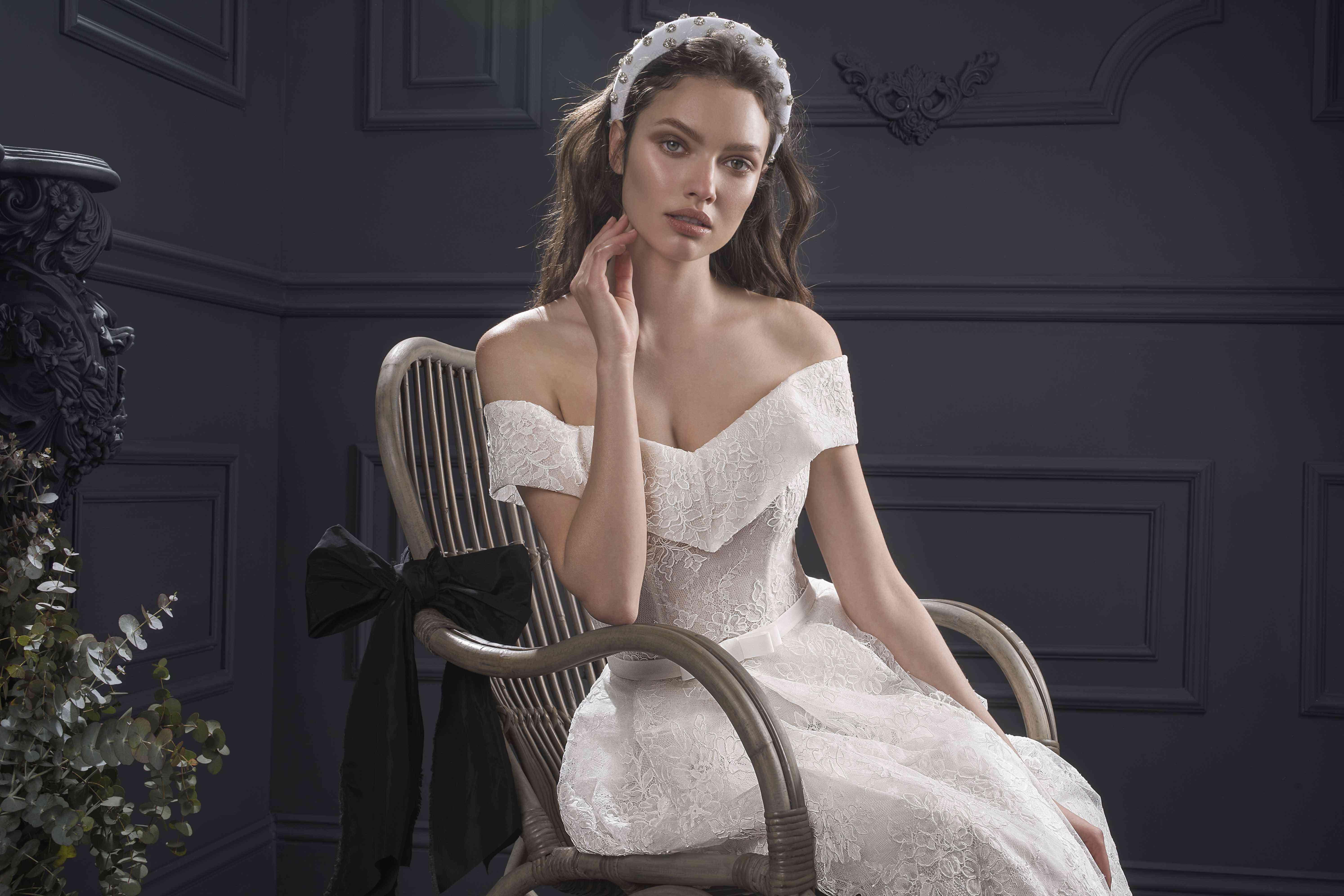 April wedding dress