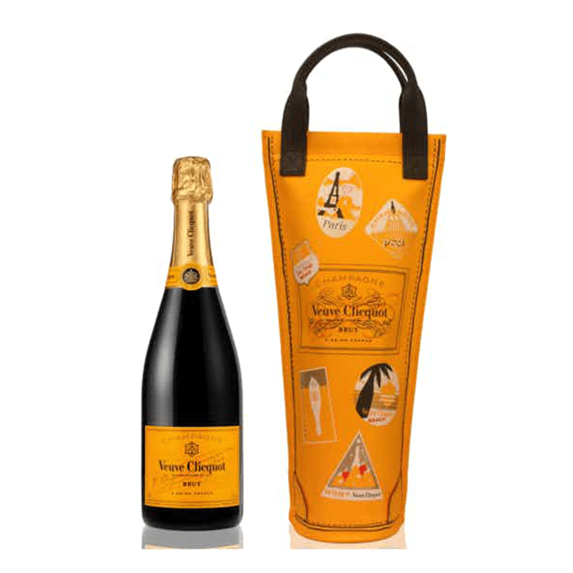 Drizly Veuve Clicquot Yellow Label Shopping Bag