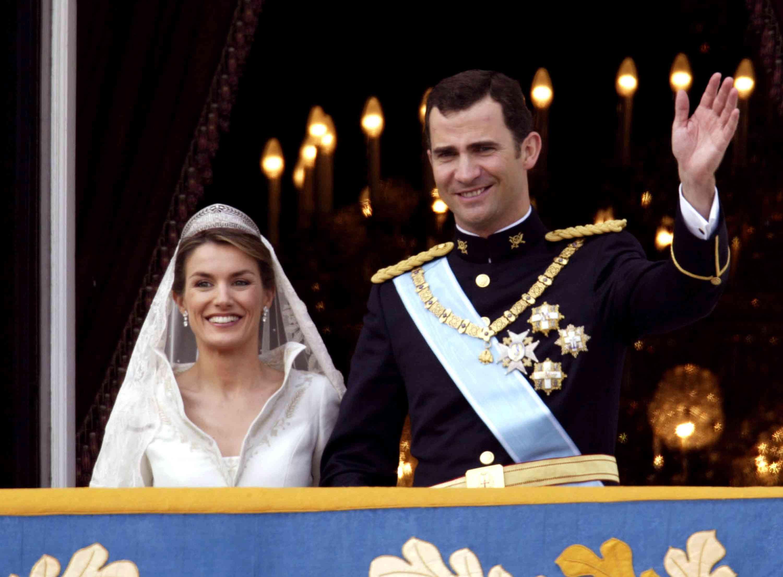 Crown Prince Felipe and Princess Letizia Ortiz