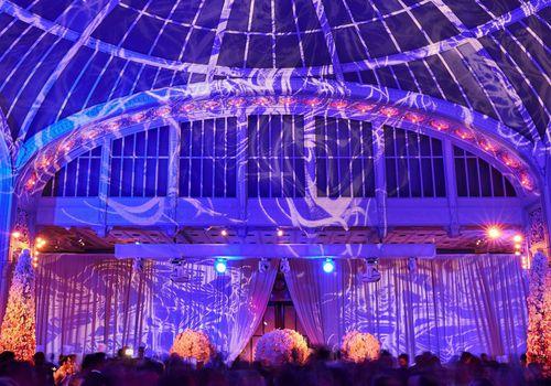 Wedding Reception Projector Ideas