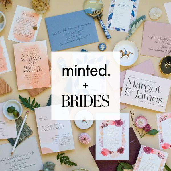 minted + brides