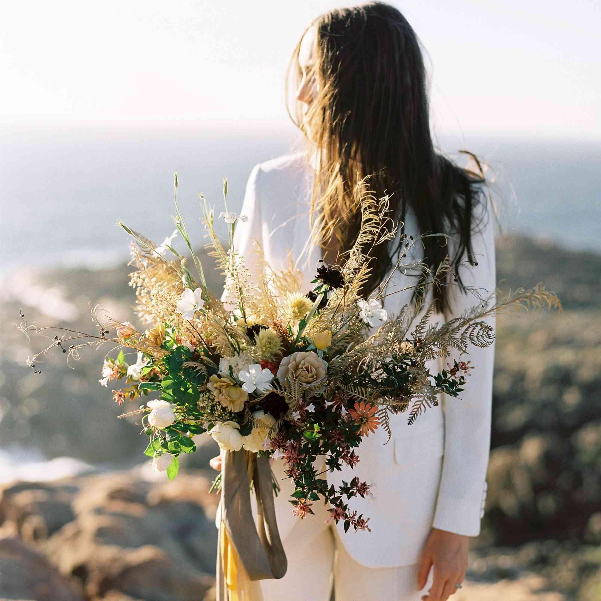 Bride In Pantsuit