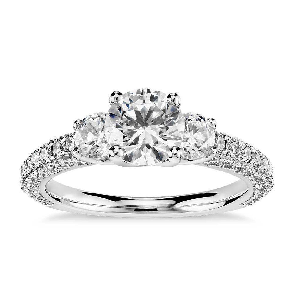 Monique Lhuillier Blue Nile Engagement Ring