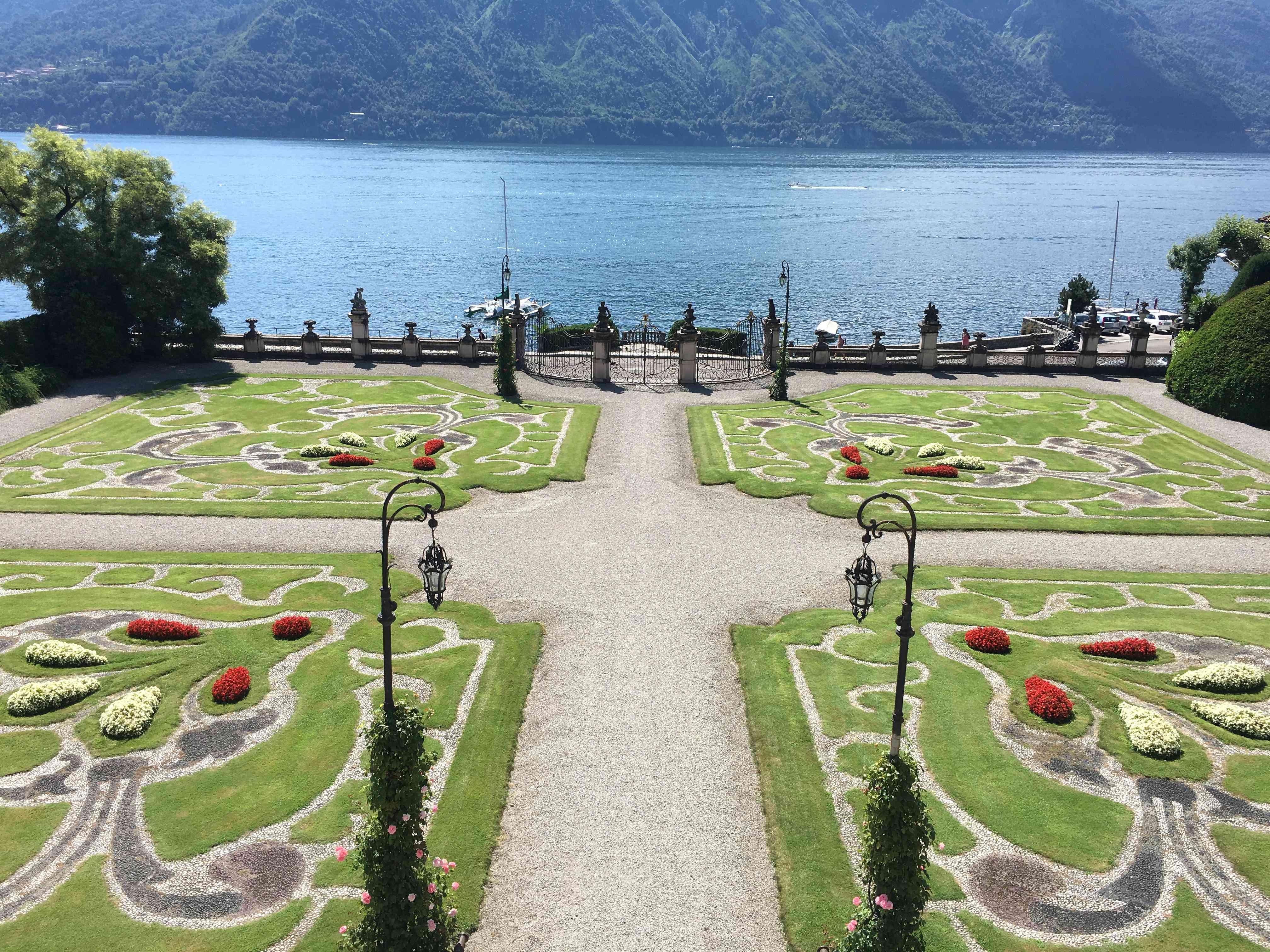 Villa Sola Lake Como Italian Garden