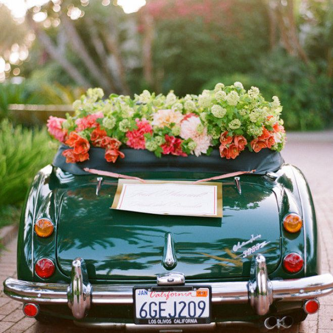 Just Married Car Decoration Ideas from www.brides.com