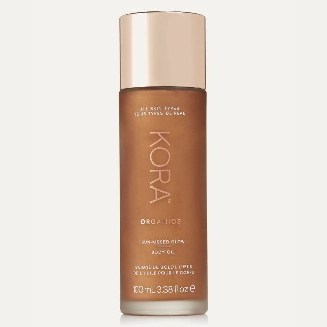 Kora Organics Sun-Kissed Body Glow Oil