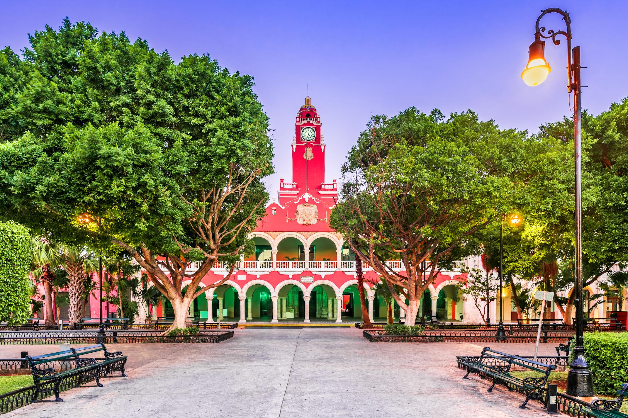 Merida, Mexico city hall