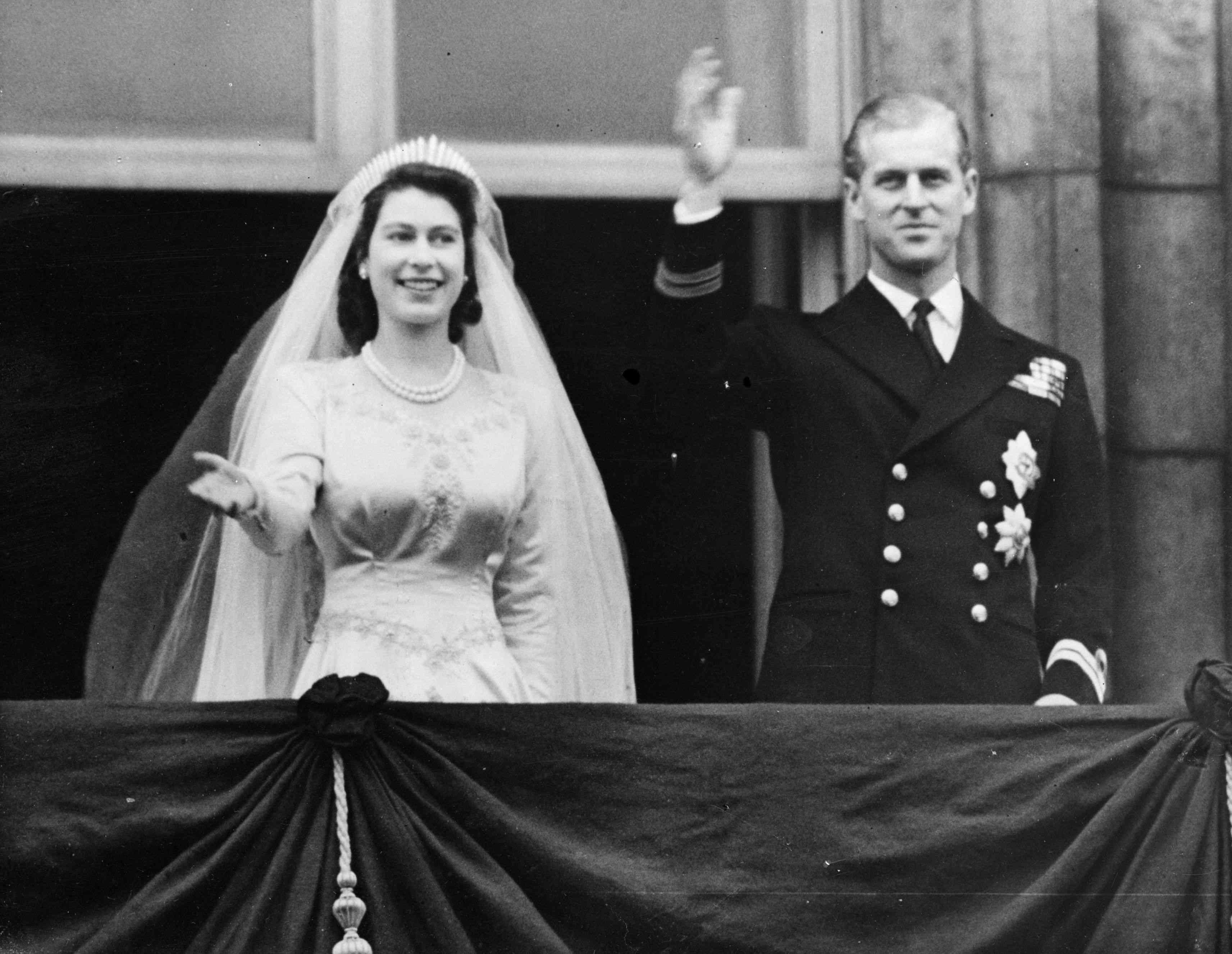 Princess Elizabeth and The Prince Philip, Duke of Edinburgh