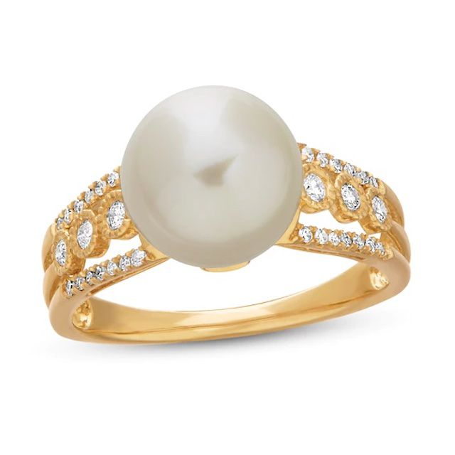 Kay Jewelers Cultured Pearl Ring