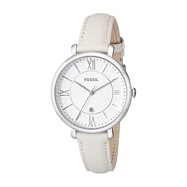 Fossil Jacqueline Three Hand Leather Watch