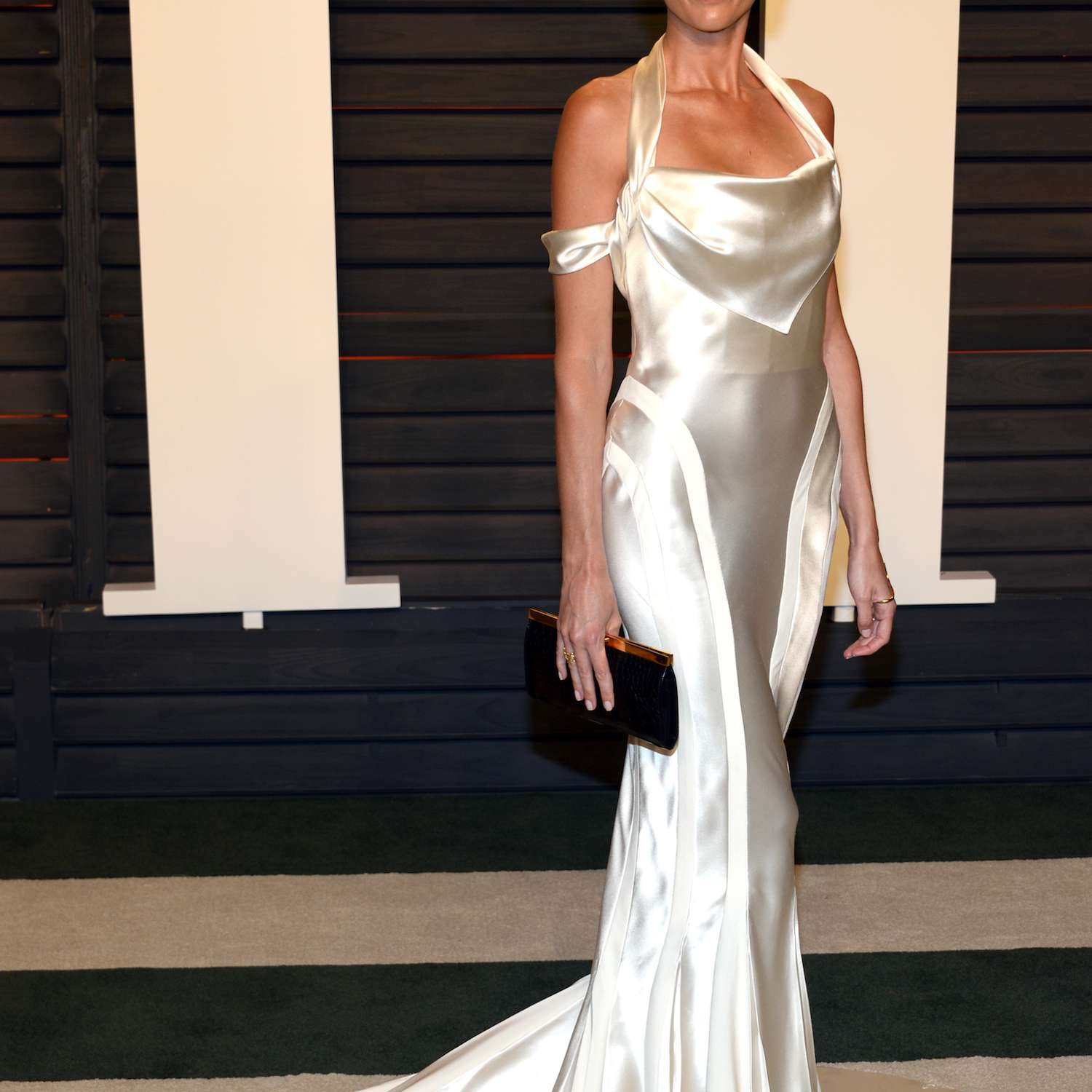 Liberty Ross at the 2016 Vanity Fair Oscars afterparty