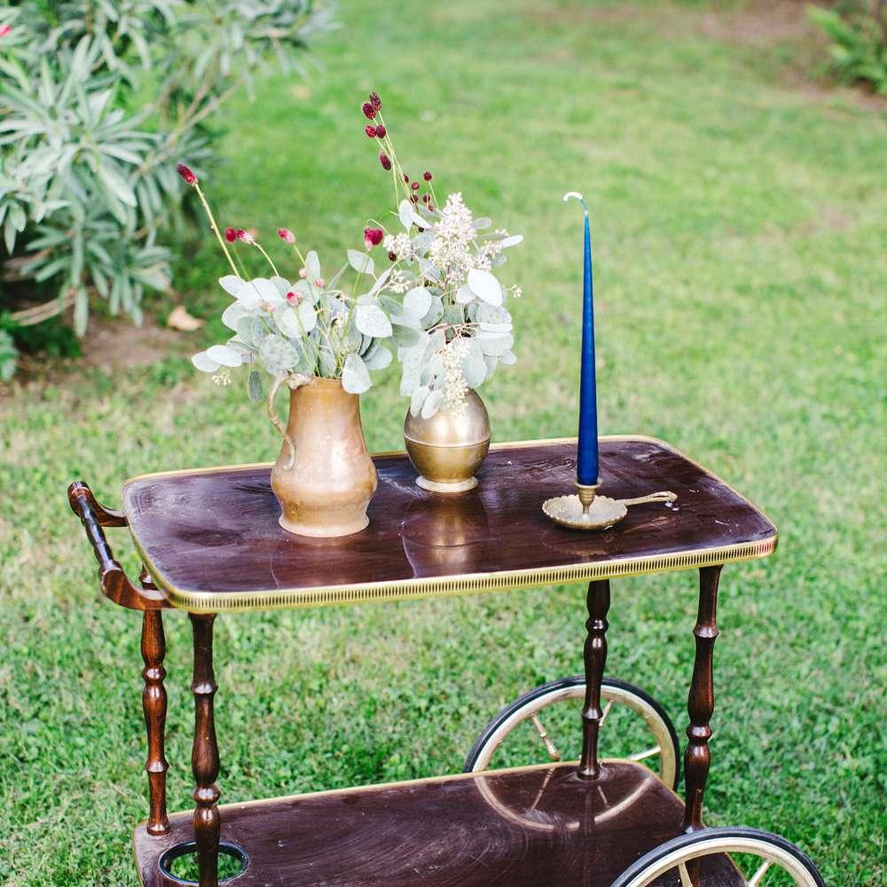 Cart at reception