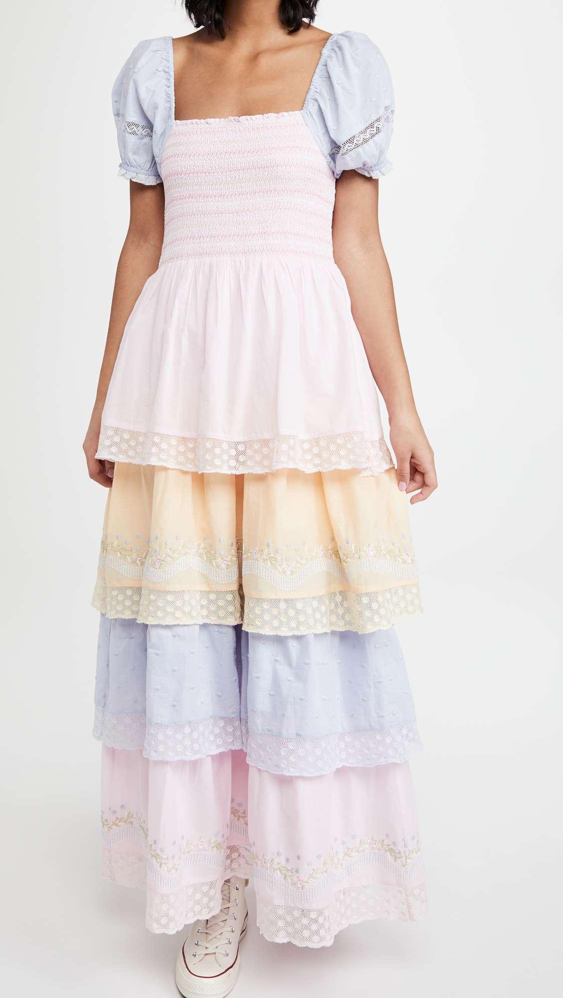 LOVESHACKFANCY Capella Dress $445