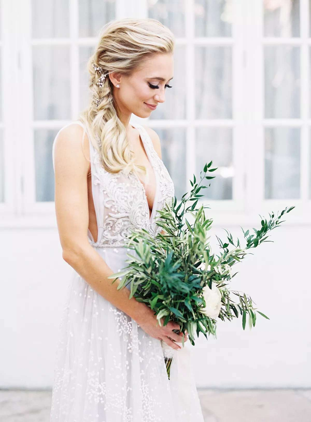 bouquet of olive branches