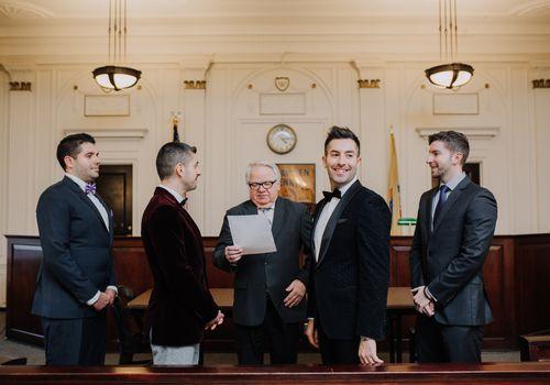 mayor wedding officiant