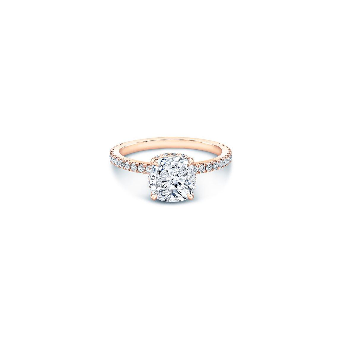 92 Rose Gold Engagement Rings For Every Bridal Style