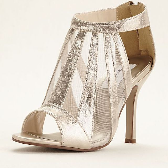 Dyeables Lotus Metallic Shimmer Bootie