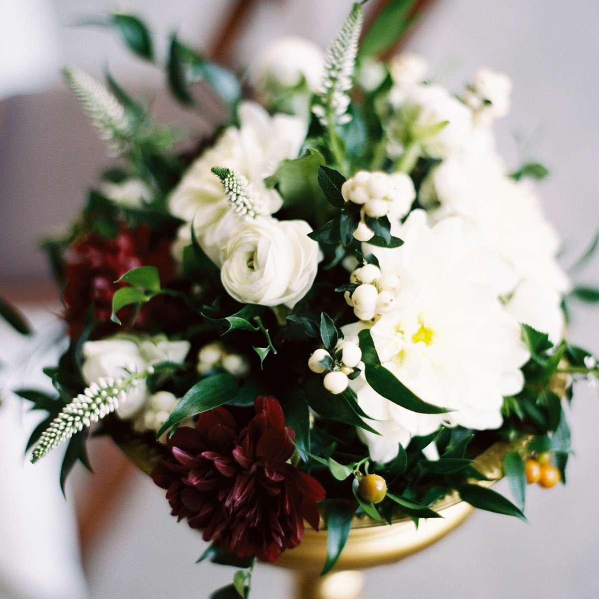 flowers in centerpiece