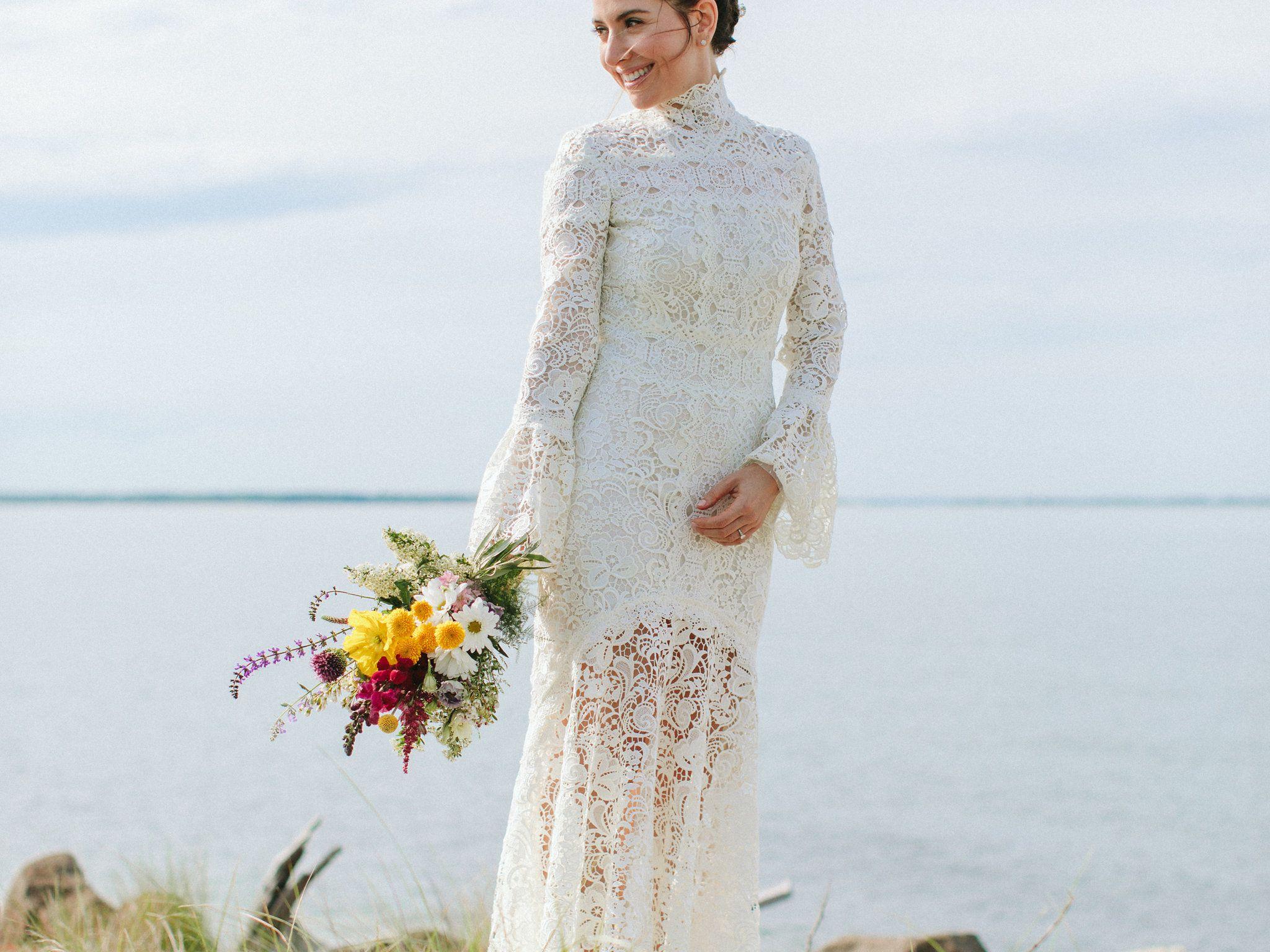 28 Lace Wedding Dresses We Love