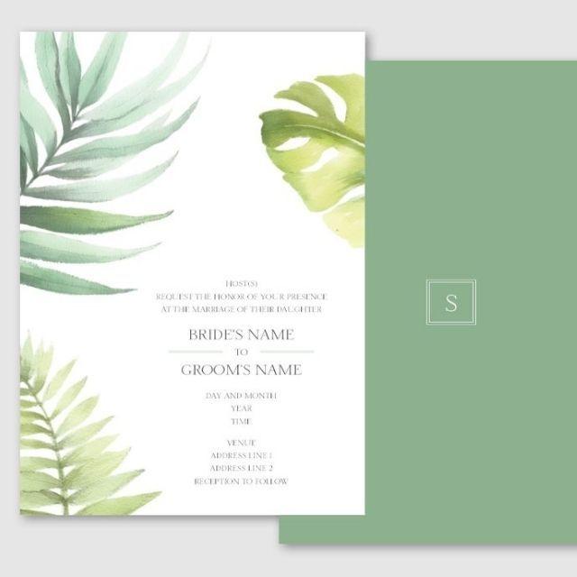 Vistaprint Invitation