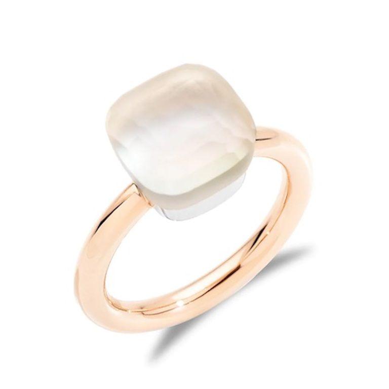 Pomellato White Topaz Ring
