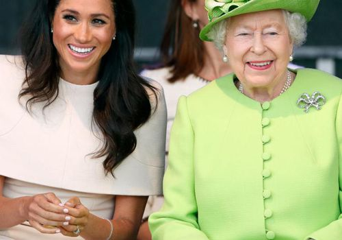 Meghan Markle and Queen Elizabeth attend a ceremony to open the new Mersey Gateway Bridge.