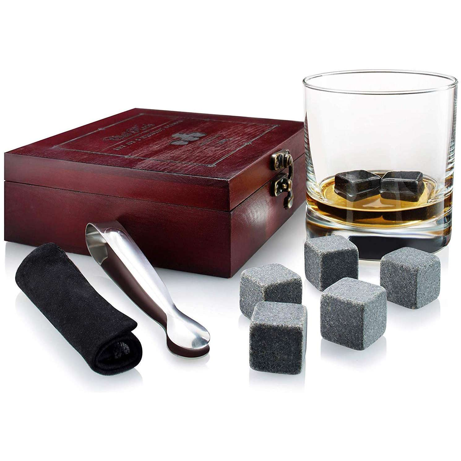 Quiseen Whiskey Chilling Stones