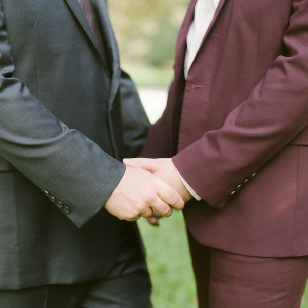 Same-Sex Couple Holding Hands