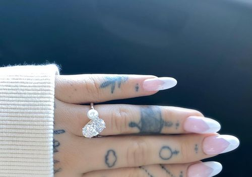 ariana grande's engagement ring