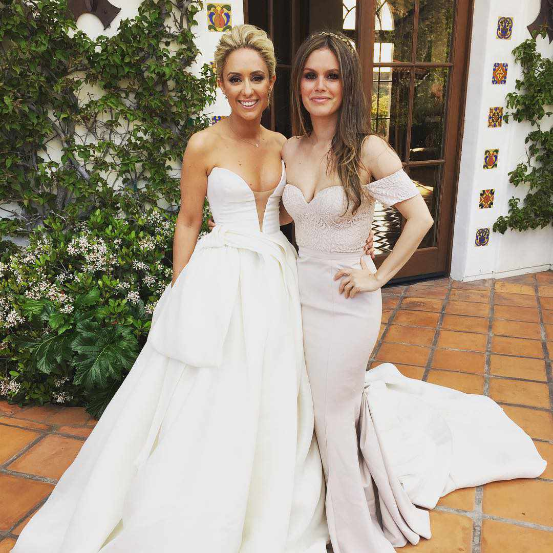 Where To Snag These Celebrities' Bridesmaid Dresses For