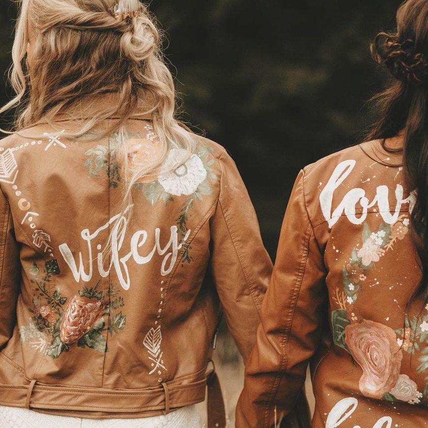 tan custom jackets