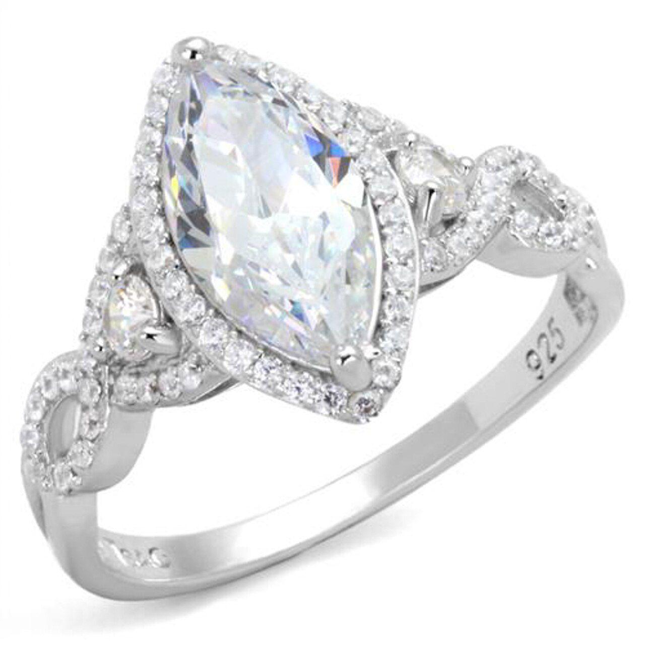 Marimor Marquise Engagement Ring
